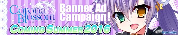 Corona Blossom Banner Ad Campaign